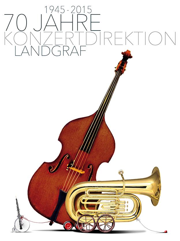 2015: 70 Jahre Konzertdirektion Landgraf | © Gio Löwe | Jubiläumsspielzeit 2015/2016